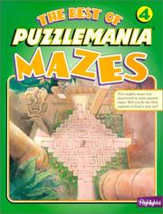 Cover of: The Best of Puzzlemania Mazes