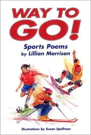 Cover of: Way to go! | Lillian Morrison