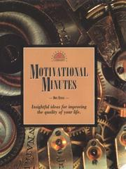 Cover of: Motivational minutes