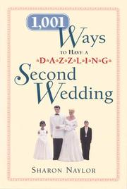 Cover of: 1,001 Ways to have a Dazzling Second Wedding