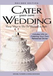 Cover of: Cater Your Own Wedding | Michael Flowers
