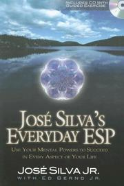 Cover of: Jose Silva's everyday ESP |