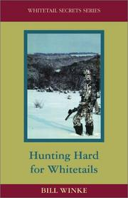 Cover of: Hunting hard for whitetails