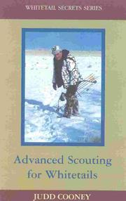 Cover of: Advanced scouting for whitetails