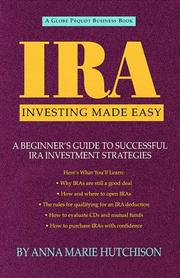 Cover of: IRA investing made easy