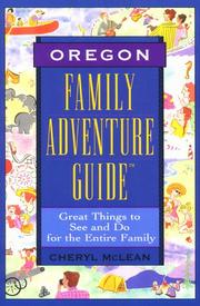 Cover of: Family Adventure Guide Oregon (1st ed.)