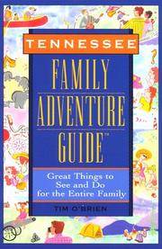 Cover of: Tennessee family adventure guide