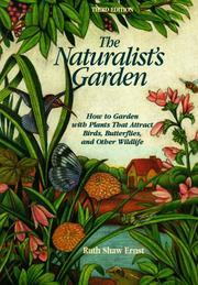 The naturalist's garden by Ruth Shaw Ernst