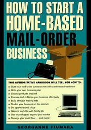 Cover of: How to start a home-based mail order business