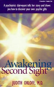 Cover of: Awakening Second Sight