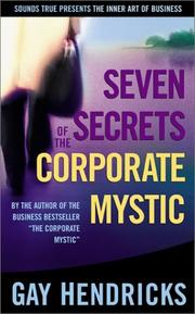 Cover of: Seven Secrets of the Corporate Mystic