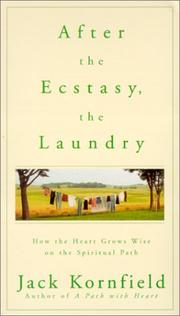 Cover of: After the Ecstasy, the Laundry |