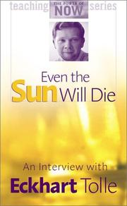 Cover of: Even the Sun Will Die