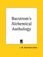 Cover of: Bacstrom's Alchemical Anthology