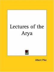 Cover of: Lectures of the Arya