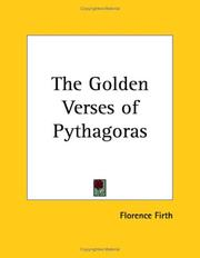 Cover of: The Golden Verses of Pythagoras