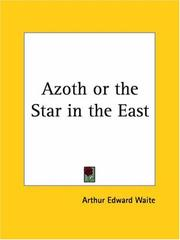 Cover of: Azoth or the Star in the East