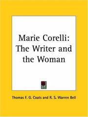 Cover of: Marie Corelli | R. S. Warren