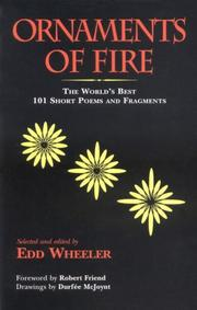 Cover of: Ornaments of Fire | Edd Wheeler