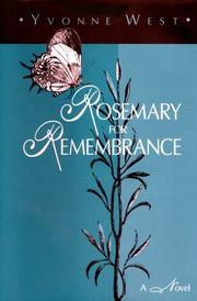 Cover of: Rosemary for remembrance