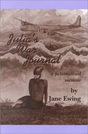 Cover of: Julia's war journal