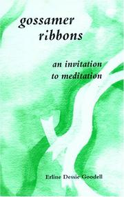 Cover of: Gossamer ribbons