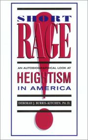 Cover of: Short Rage | Deborah J., Ph.D. Burris-Kitchen