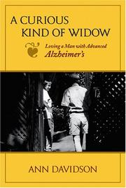Cover of: A curious kind of widow