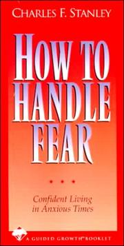 Cover of: How to Handle Fear