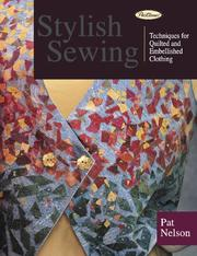Cover of: Stylish Sewing | Patricia Nelson