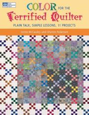 Cover of: Color for the Terrified Quilter | Ionne Mccauley