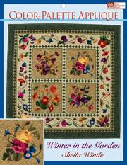 Color Palette Applique by Sheila Wintle