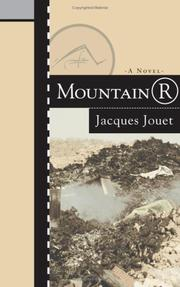 Cover of: Mountain R | Jacques Jouet
