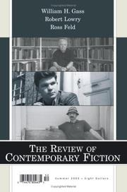 Cover of: The Review of Contemporary Fiction | John O