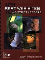 Cover of: 101 best Web sites for district leaders | Susan Brooks-Young