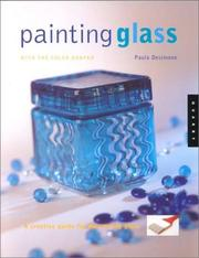 Painting glass with the color shaper by Paula DeSimone