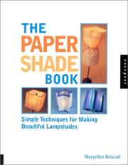 Cover of: The paper shade book | Maryellen Driscoll