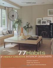 Cover of: 77 habits of highly creative designers | Lynch, Sarah