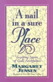 Cover of: A nail in a sure place