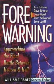 Cover of: Forewarning | William T. James