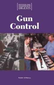 Cover of: Gun Control