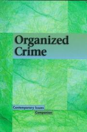 Cover of: Organized Crime | James D. Torr