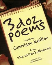 Cover of: Three Dozen Poems: From the Writer's Almanac