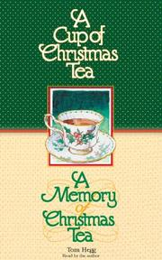 Cover of: A Cup of Christmas Tea/A Memory of Christmas Tea