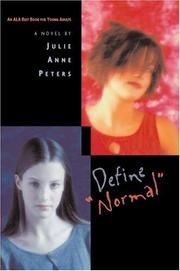 Cover of: Define Normal