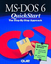 Cover of: MS-DOS 6 QuickStart
