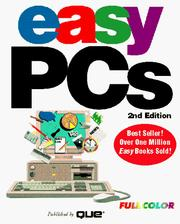Cover of: Easy PCs