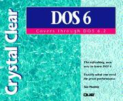 Cover of: Crystal clear DOS, covers through DOS 6.2