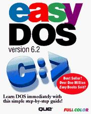 Cover of: Easy DOS