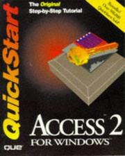 Cover of: Access 2 for Windows quickstart